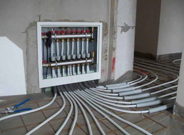Руководство по укладке труб для теплого водяного пола – технология монтажа