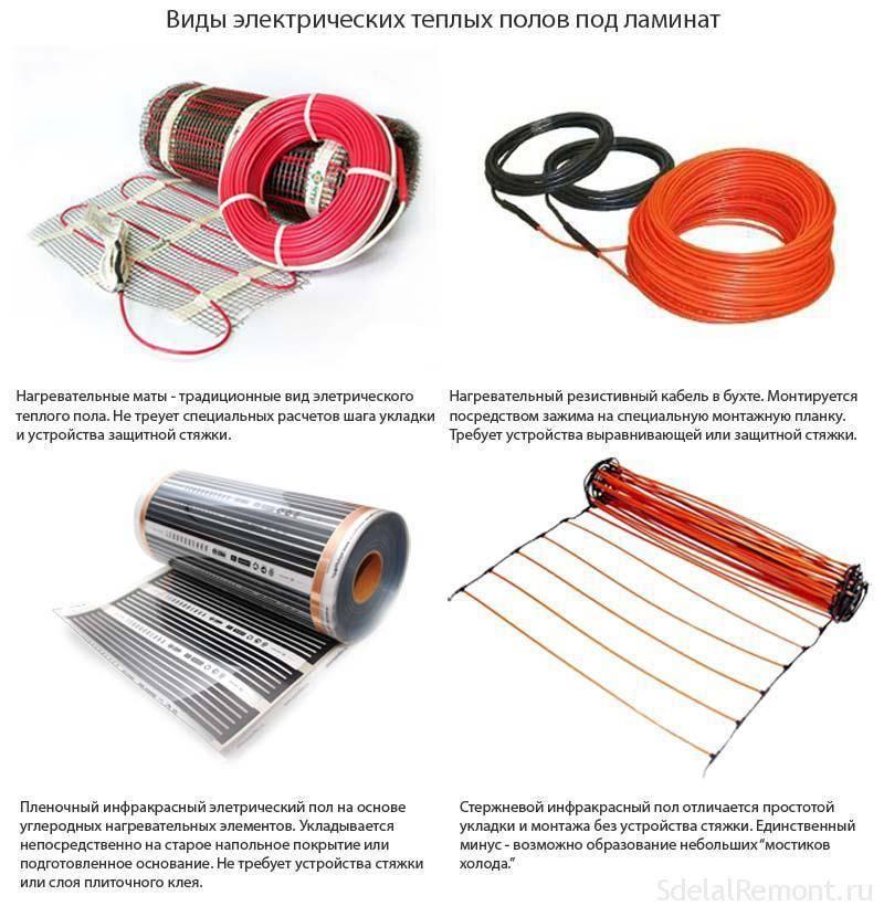 Как выбрать электрический теплый пол: виды систем + критерии подбора