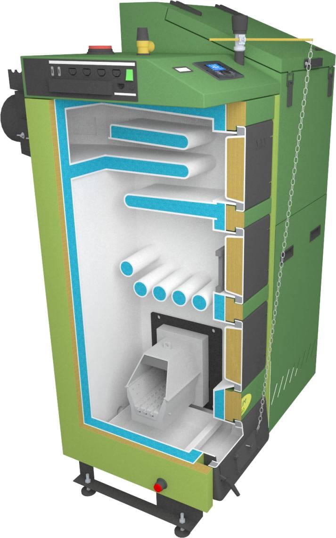 Автоматические котлы на пеллетах: принцип работы, конструкция