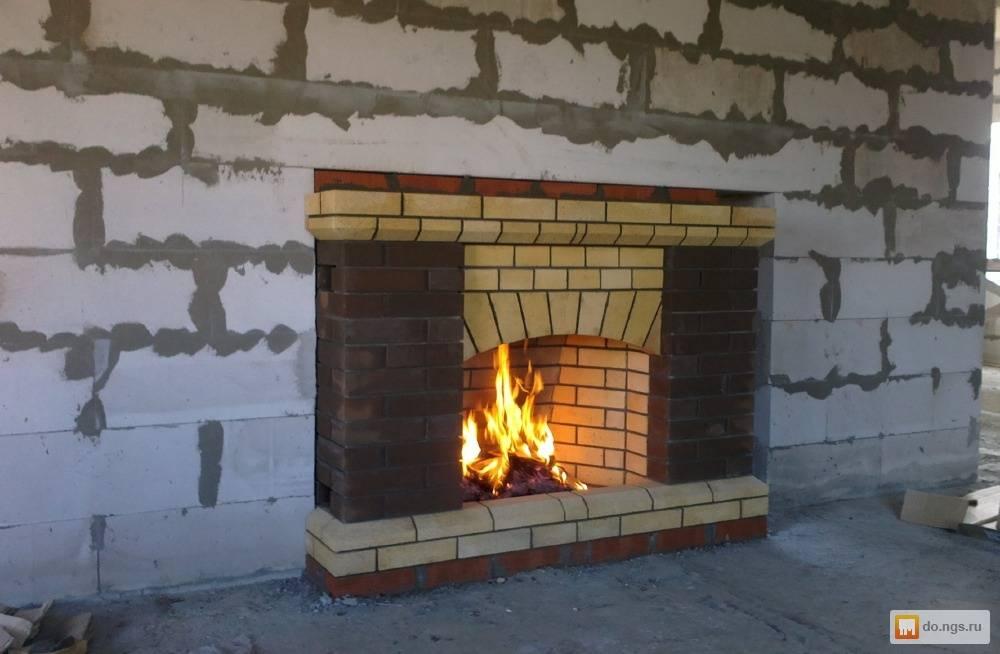 Изготовление печи камина из кирпича: расчет, материалы, пошаговая инструкция
