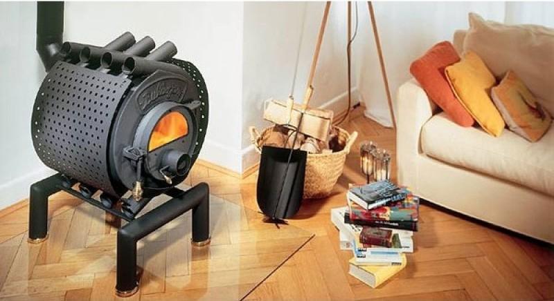 Печь-камин с водяным контуром отопления: как выбрать котел для частного дома