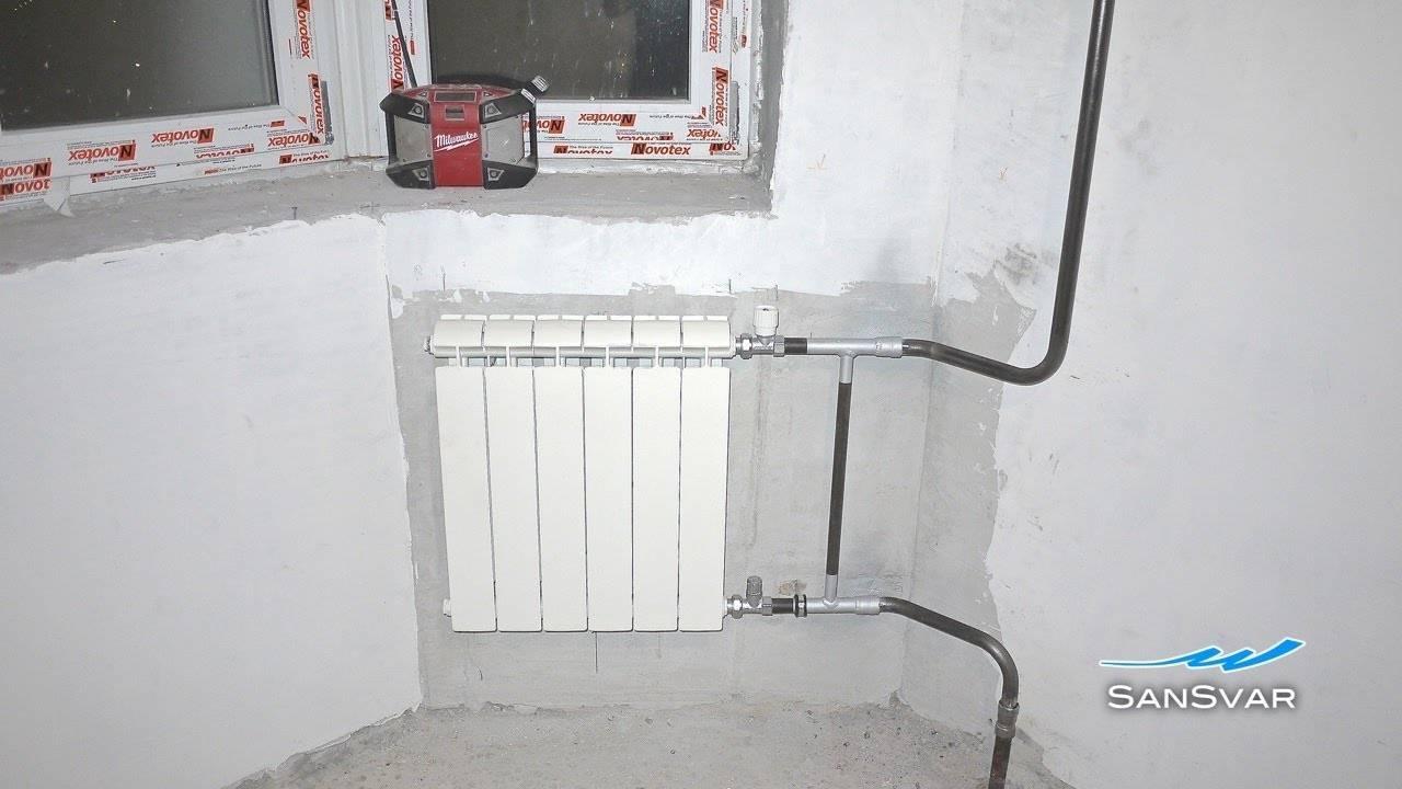 За чей счет замена батарей отопления в квартире?