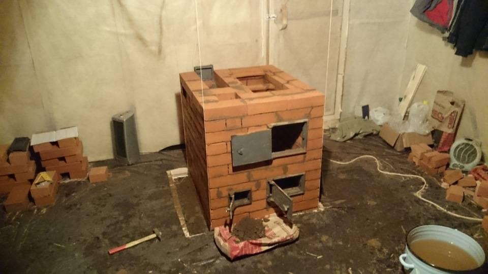 Установка печи на даче своими руками - как построить правильно