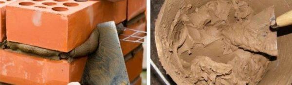 Глиняный раствор на золе для кладки печей. как сделать глиняный раствор для печи