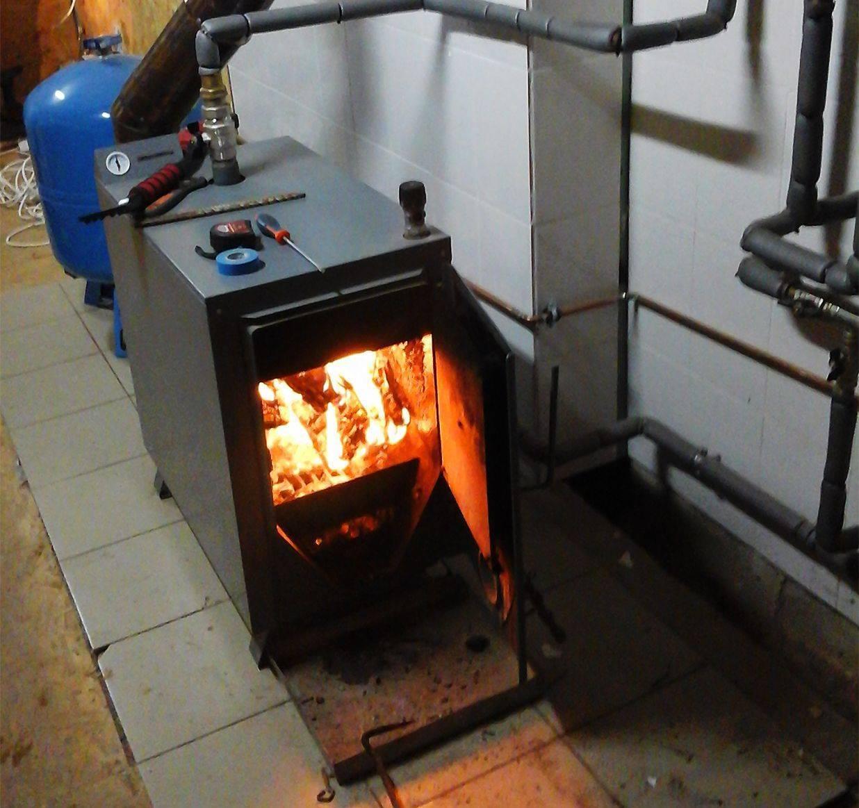 Газовая отопительная печь