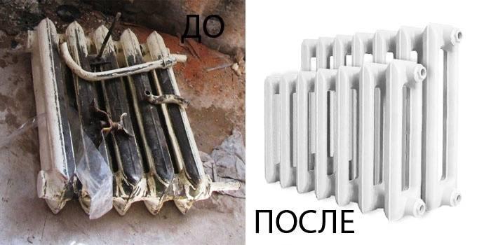Как разобрать и собрать, батареи отопления: чугунные, алюминиевые и биметаллические