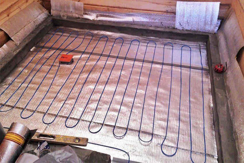 Электрический теплый пол - отопление частного дома