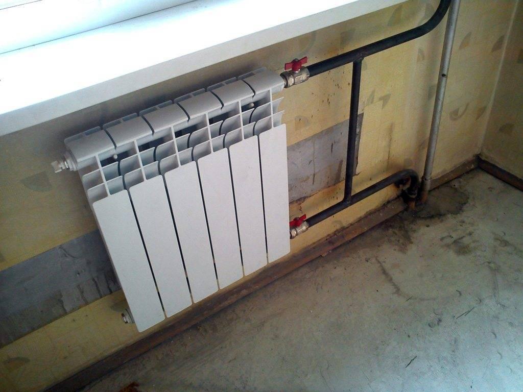 Замена радиаторов отопления: 95 фото смены секций и обслуживание труб