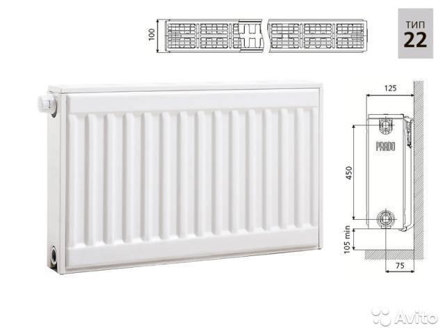 Стальные радиаторы отопления прадо: качественные отопительные приборы отечественного производства