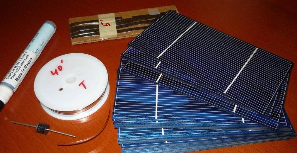 Как собрать солнечную батарею