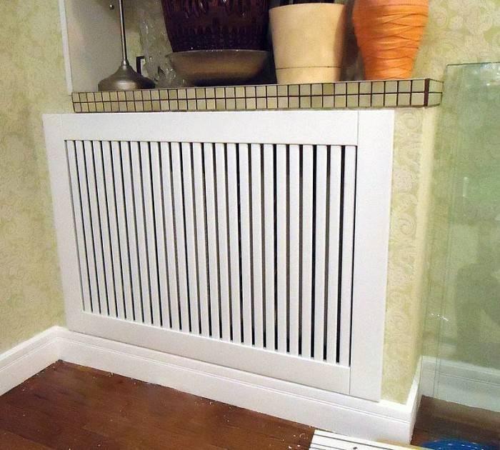 Решетка на радиатор: декоративные решётки, закрывающие радиатор и экраны для отражения тепла от стен, советы по выбору