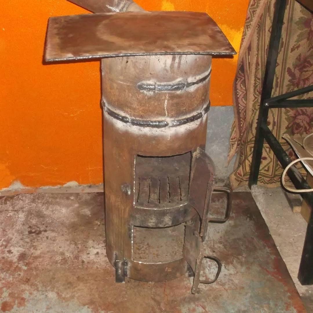 Печка буржуйка своими руками: схема самодельной буржуйки для дачи и гаража