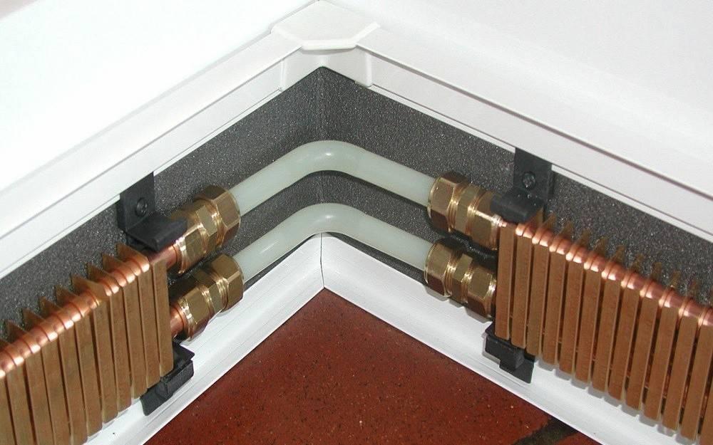 Плинтусное отопление: устройство, особенности, виды и монтаж | строй советы