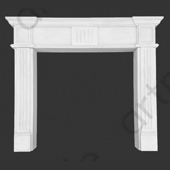 Камин из полиуретана своими руками (45 фото): декоративное обрамление камина в интерьере