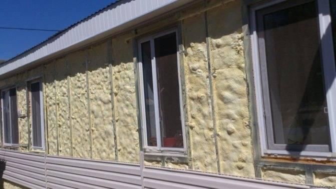 Утепляем стены пенополиуретаном в москве. компания «полимер трейд»