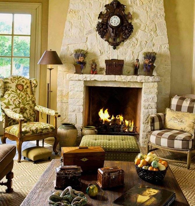 Виды каминов, простая классификация по топливу, способу установки, стилю
