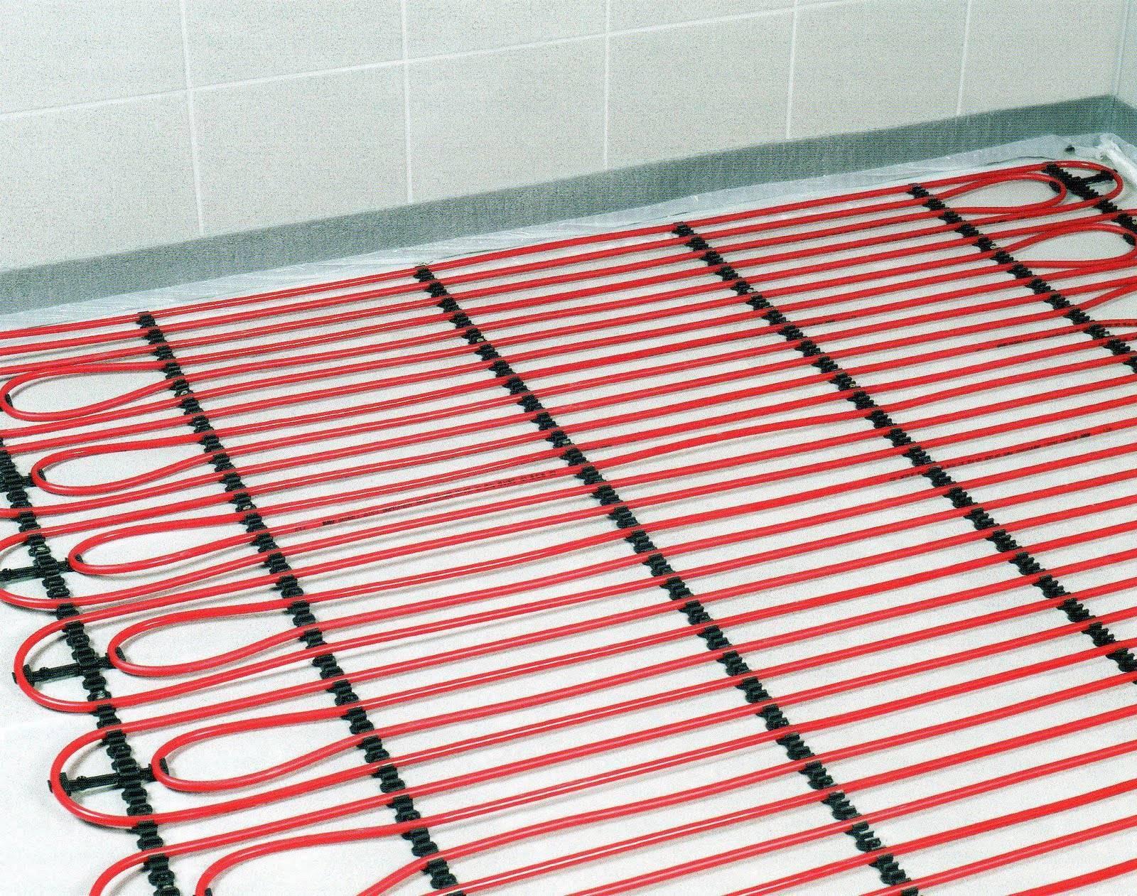 Электрический теплый пол под плитку: правила укладки и монтажа