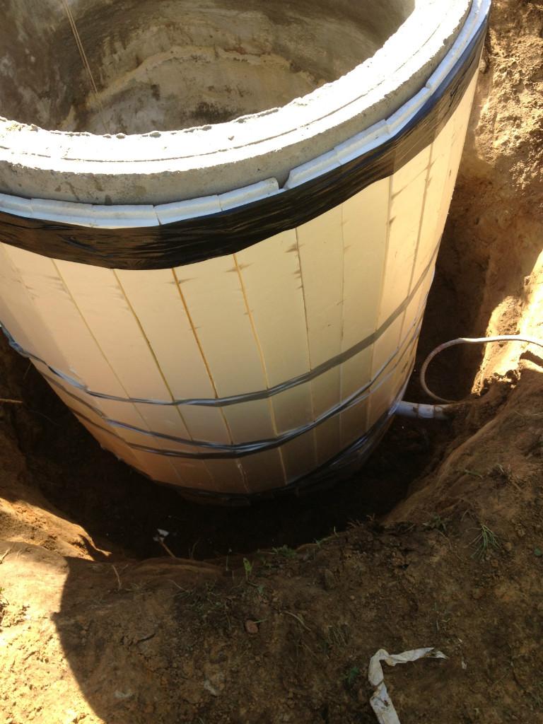 Утепление колодца на зиму своими руками — канализация