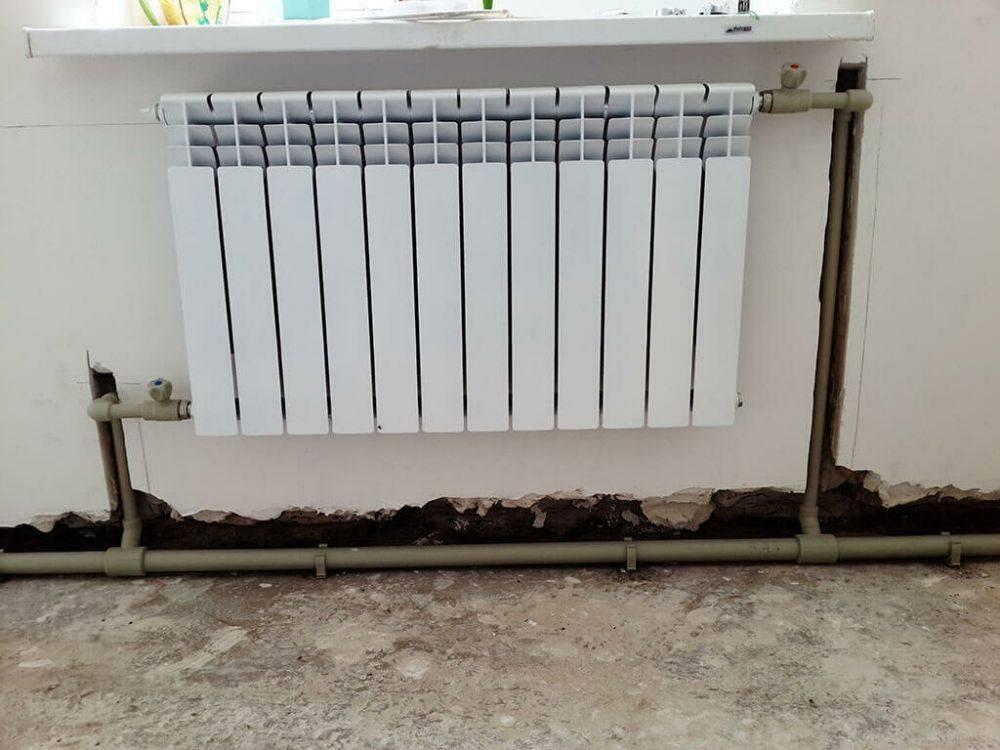 Как разобрать алюминиевый радиатор отопления