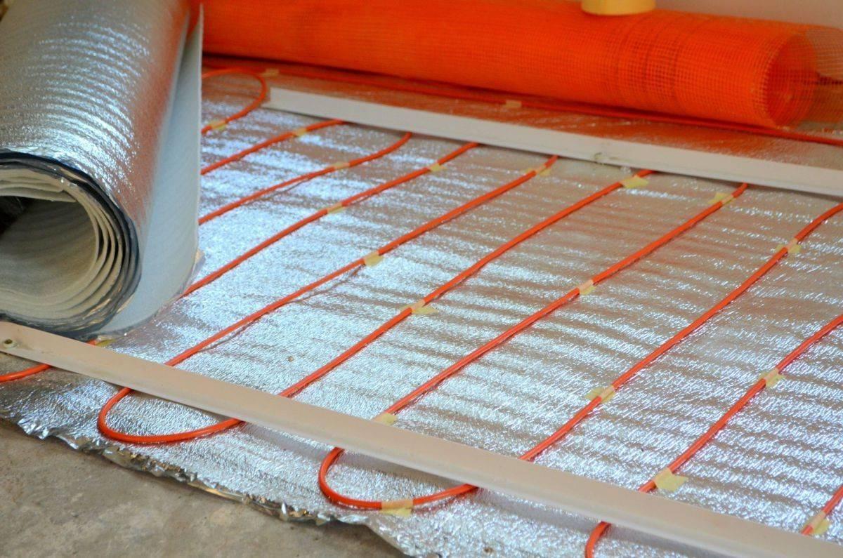 Теплоизоляция стен, кровли и пола фольгированным утеплителем «пенофол»