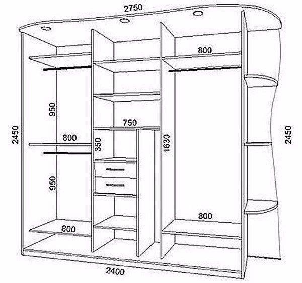 Шкаф купе своими руками для прихожей, фото инструкция