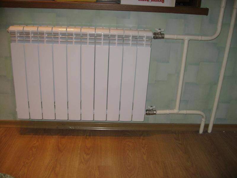 Отопление в квартире. как правильно закрыть батарею на лето