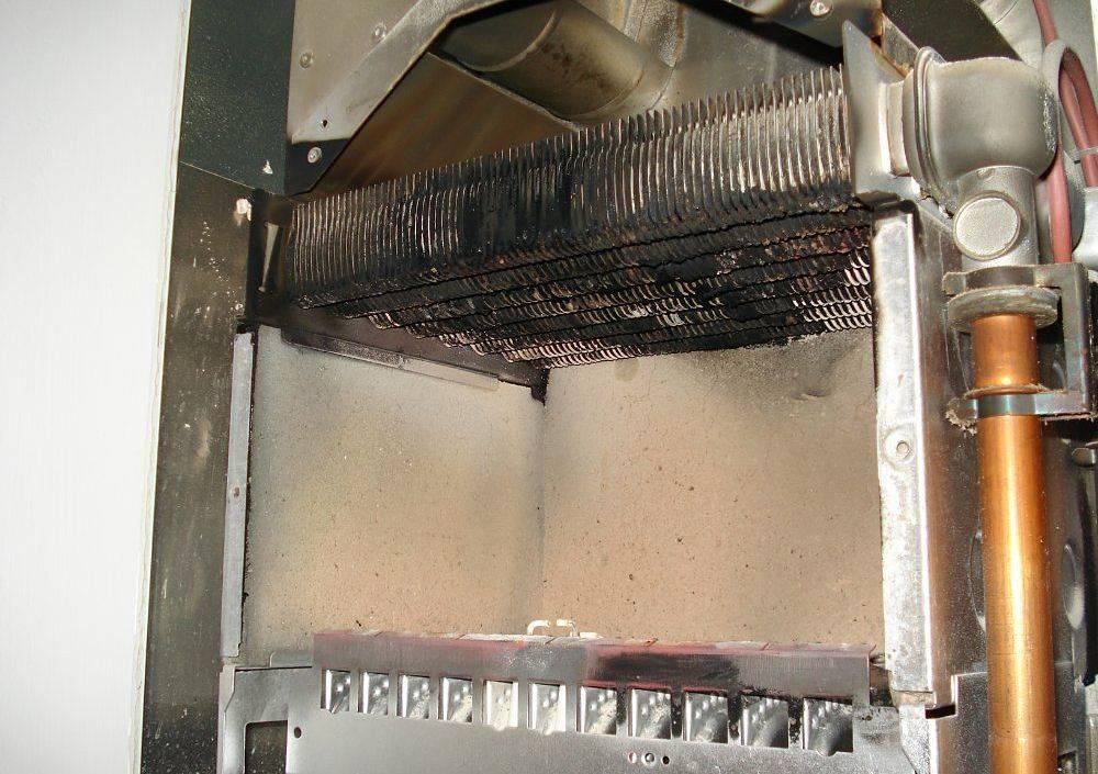 Промывка теплообменника газового котла своими руками