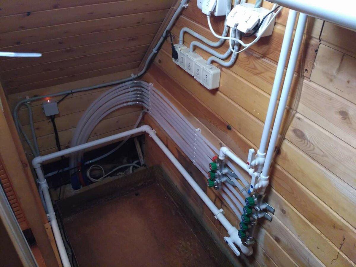 Водоснабжение бани своими руками. водоснабжение бани зимой и летом проводим воду в баню от дома