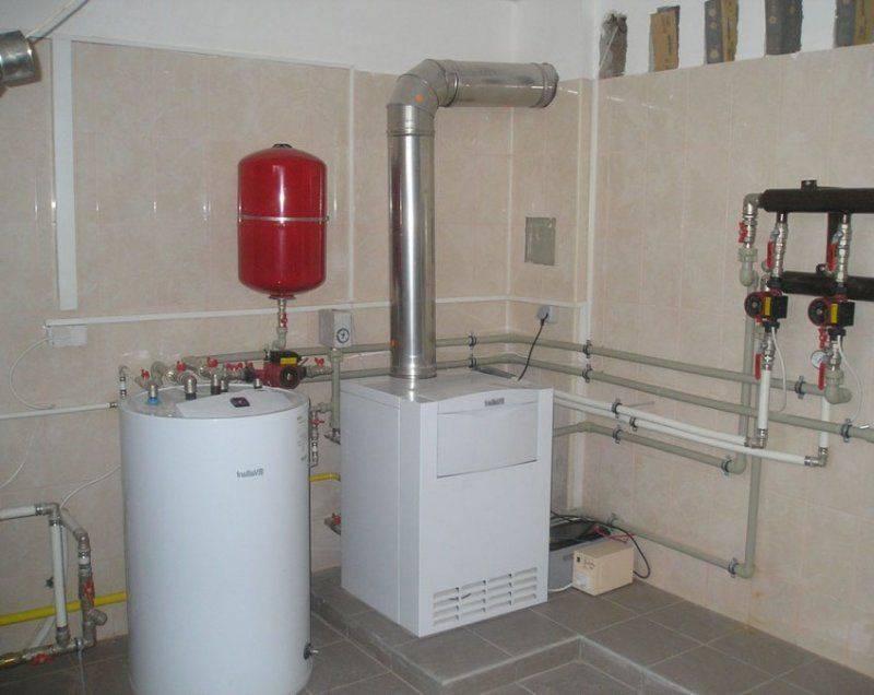 Газовый котел для отопления частного дома — способ обогреть жилье