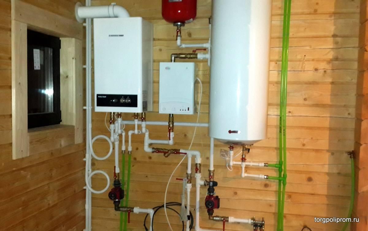 Газовое отопление загородного дома, коттеджа, виды и система
