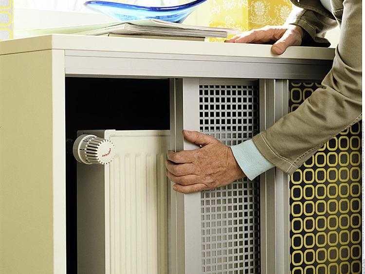 Как красиво и правильно спрятать батареи отопления?