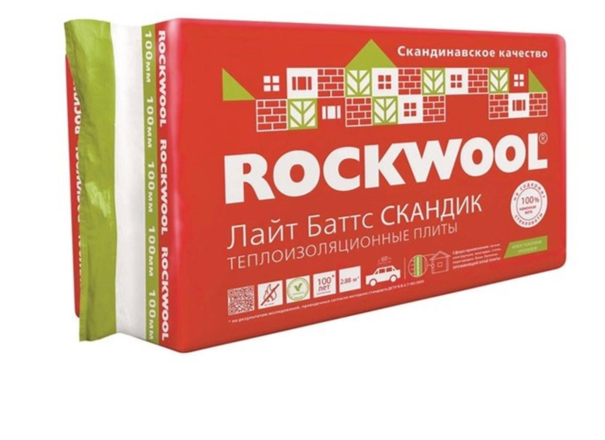 Лайт баттс скандик от rockwool: частное решение