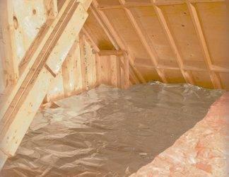 Утепление перекрытия холодного чердака минватой: что нужно знать