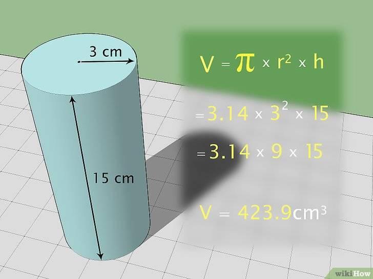Как вычислить объем в кубических сантиметрах: 9 шагов