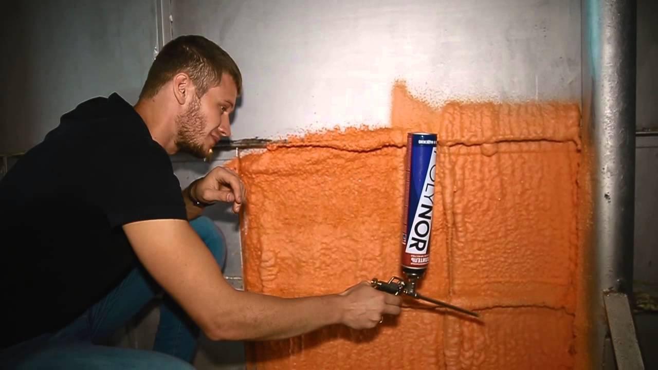 Напыляемая теплоизоляция: нанесение полиуретановой пены своими руками, оборудование