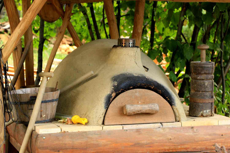 Делаем печь для обжига керамики своими руками. русская глинобитная печь