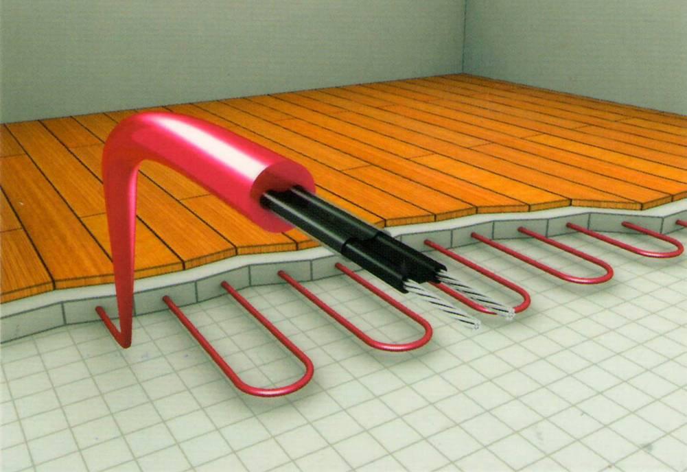 Самостоятельная укладка плитки на теплый пол