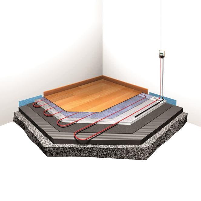 Теплый пол с электроподогревом: кабельный, инфракрасный и пленочный