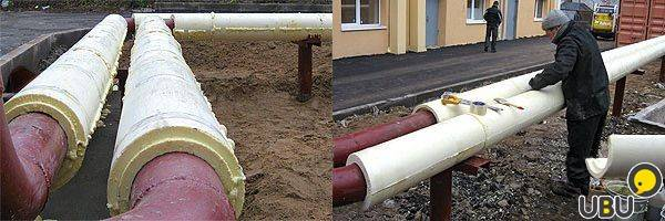 Утепление пластиковых труб для водопровода своими руками