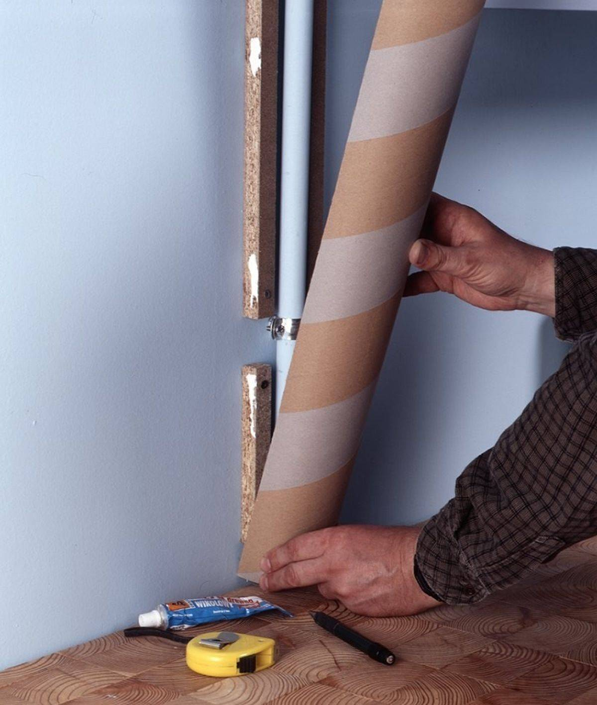8 ответов на частый вопрос — как задекорировать трубу отопления в комнате? инструкции и фото