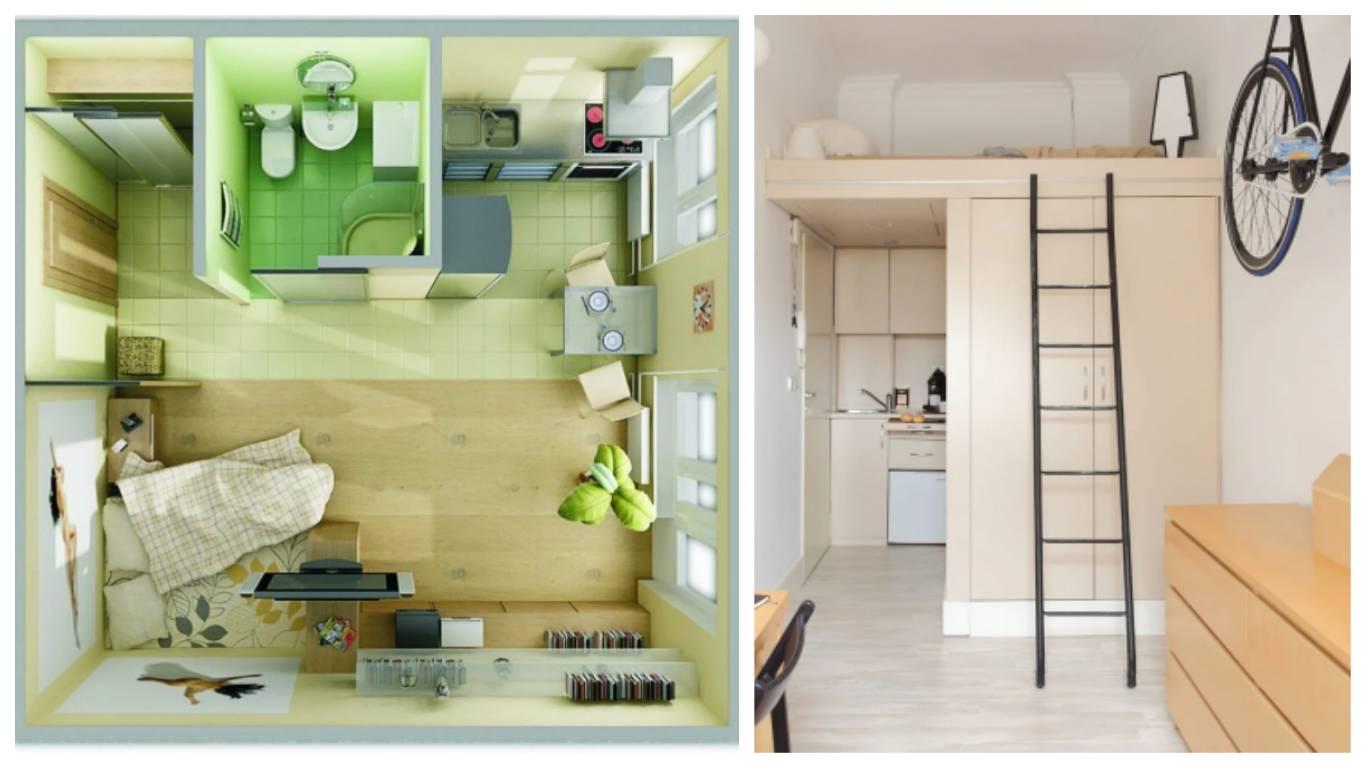 10 стильных и практичных идей для интерьера маленькой квартиры - лайфхакер