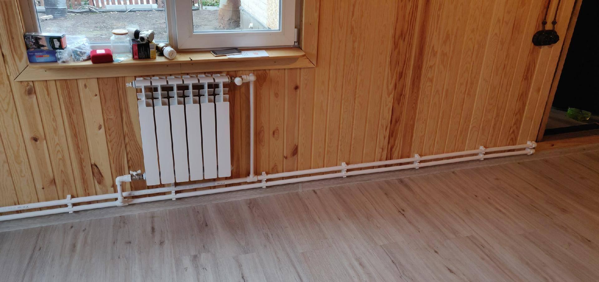 Отопление в частном доме из полипропиленовых труб своими руками: схемы