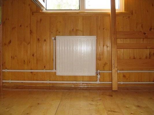Отопление частного дома своими руками из полипропилена