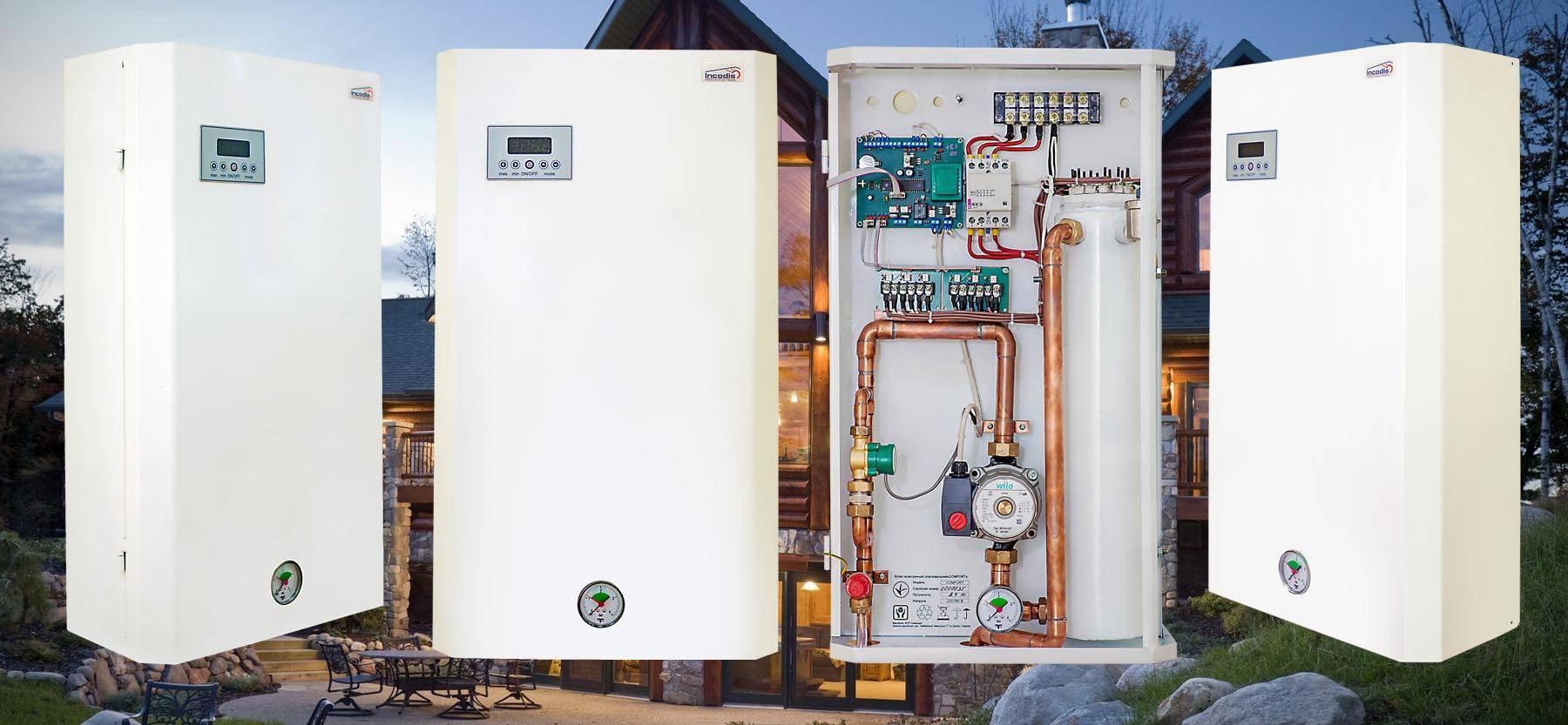Виды и выбор электрического котла отопления