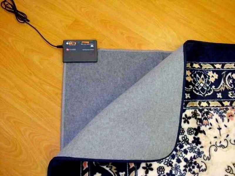 Мобильный теплый пол под ковер — характеристики и цены