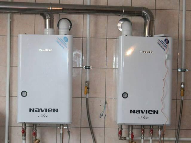 Преимущества газового котла Навьен - характеристики