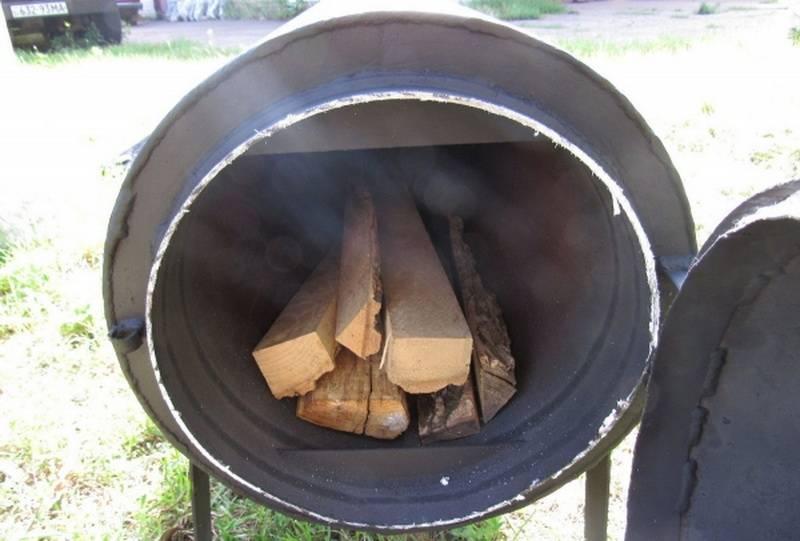 Отопление теплицы дровами своими руками > видео + фото