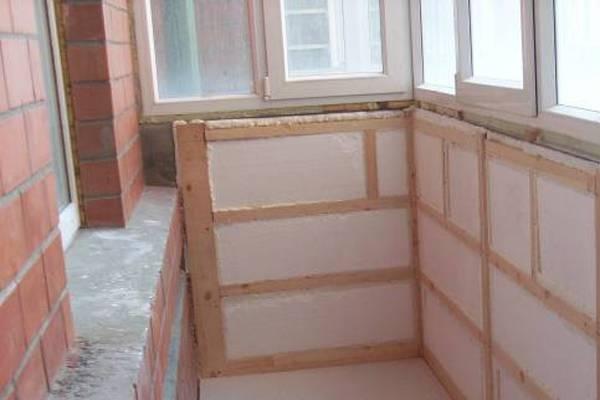 Утепление балкона пенопластом или пенополистиролом своими руками: видео инструкция